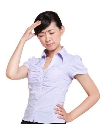 Sign Language Interpreter Thinking Really Hard