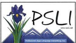 Professional Sign Language Interpreting