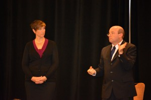 Sign Language Interpreters - Richard Brumberg and Donna Flanders