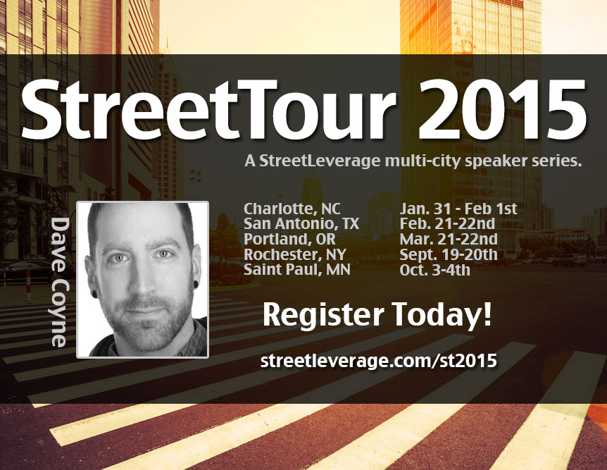 Dave Coyne - StreetTour 2015
