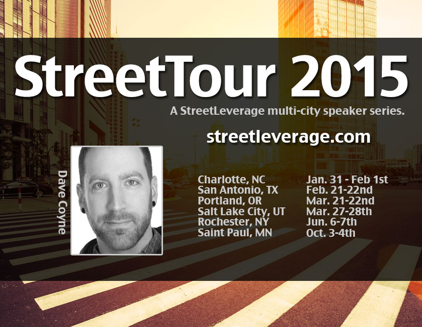 StreetTour 2015 with Dave Coyne