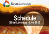 Schedule - StreetLeverage - Live 2015