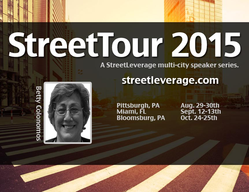 StreetTour 2015 with Betty Colonomos
