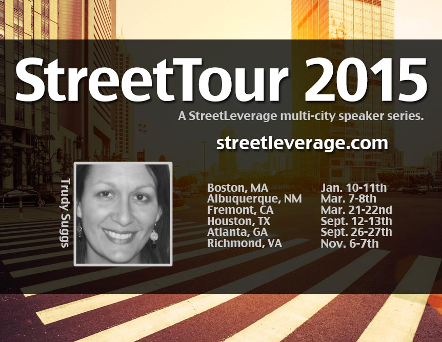 StreetTour 2015 with Trudy Suggs