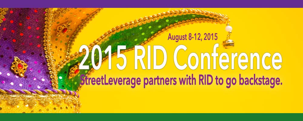StreetLeverage Coverage of the 2015 RID Conference