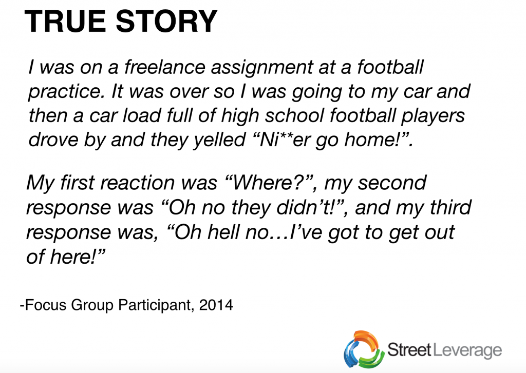 True Story - Erica West Oyedele Presentation at StreetLeverage - X
